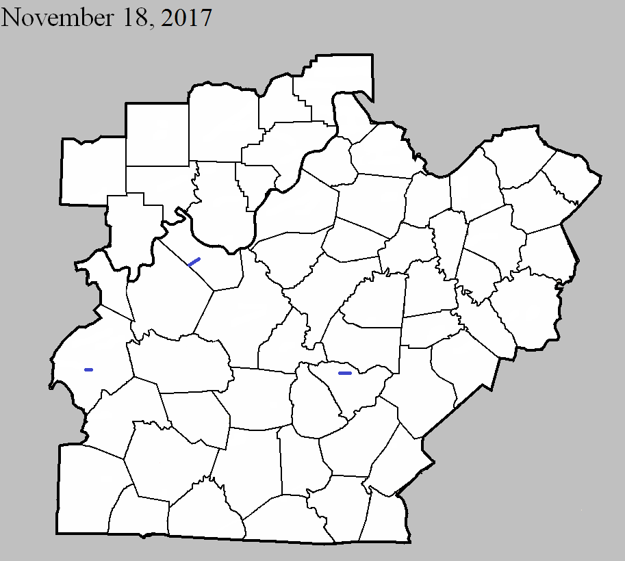 Tornadoes of November 18, 2017