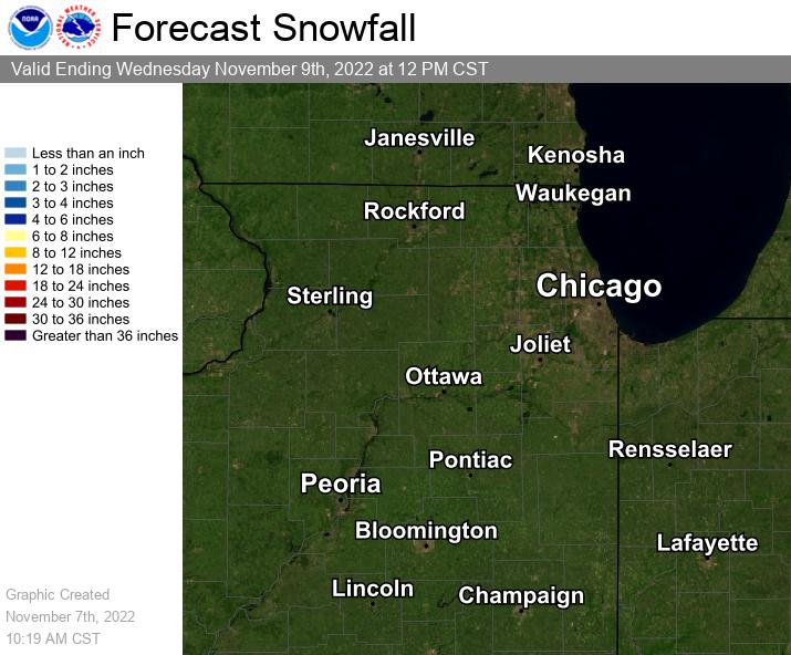 Forecast Snowfall