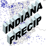 Indian CoCoRaHS Precipitation