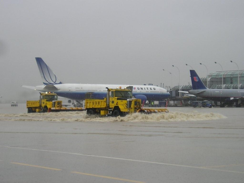 Flooding at OHare International Airport