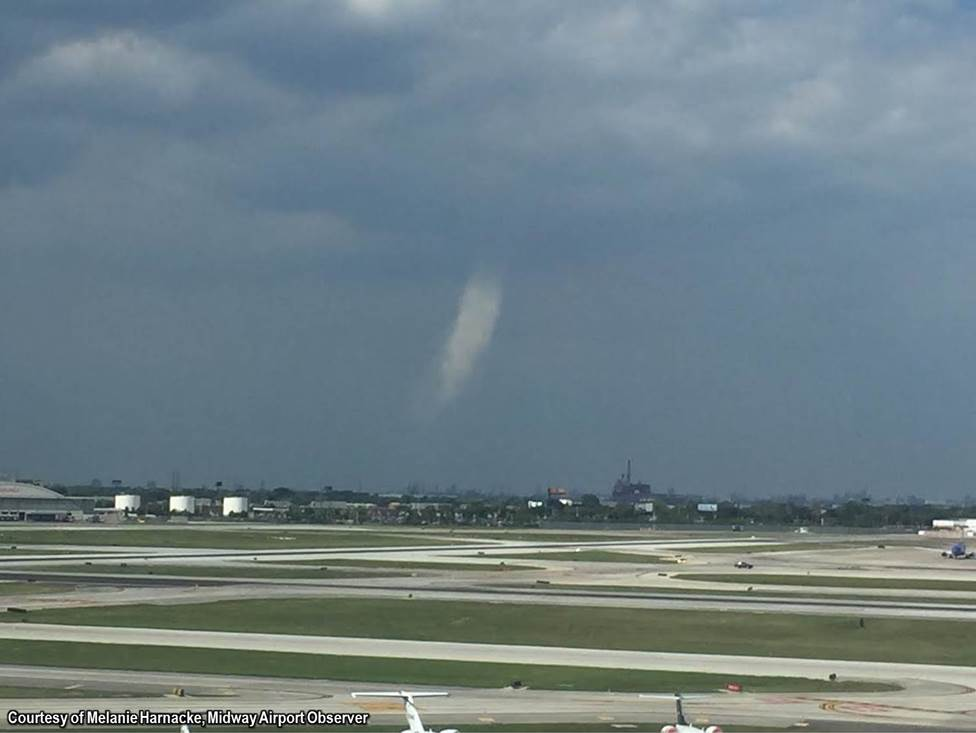 Photo taken by Melanie Harnacke, Midway Airport Observer