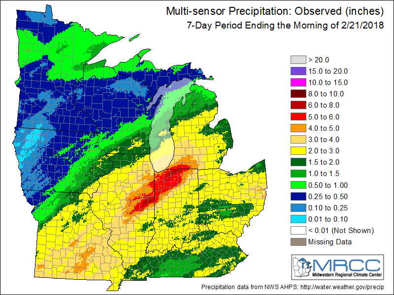 Midwest Rainfall