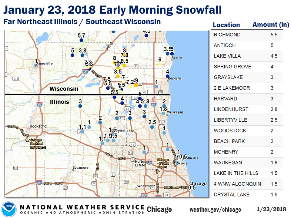Map of chicago with suburbs popular 246 list chicago suburbs map map of chicago with suburbs january 23 2018 early morning burst of snowfall in far northern sciox Images