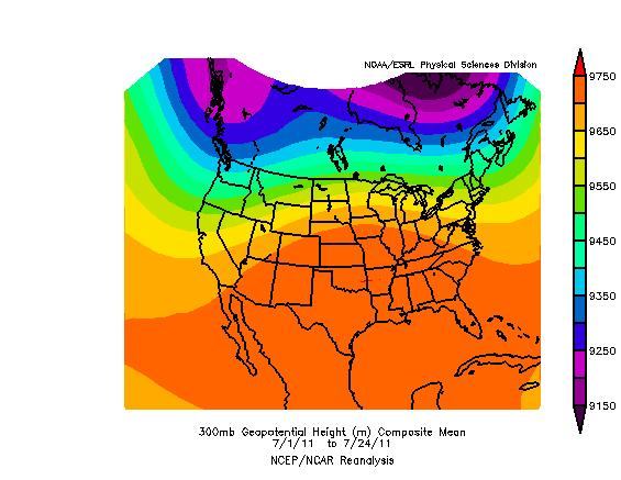 300MB Geopotential Height