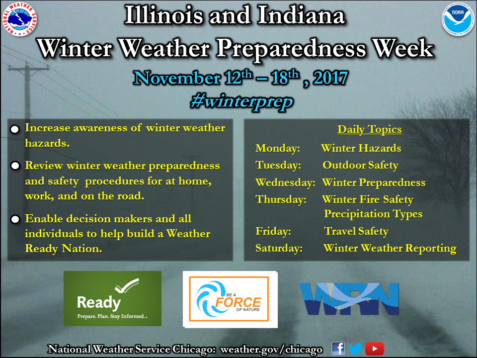 NWS Winter Week Agenda