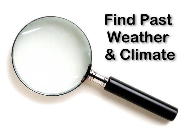 Find Past Weather Data