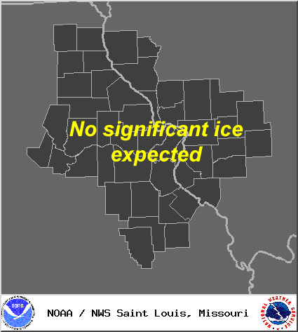 St. Louis NWS Ice Forecast