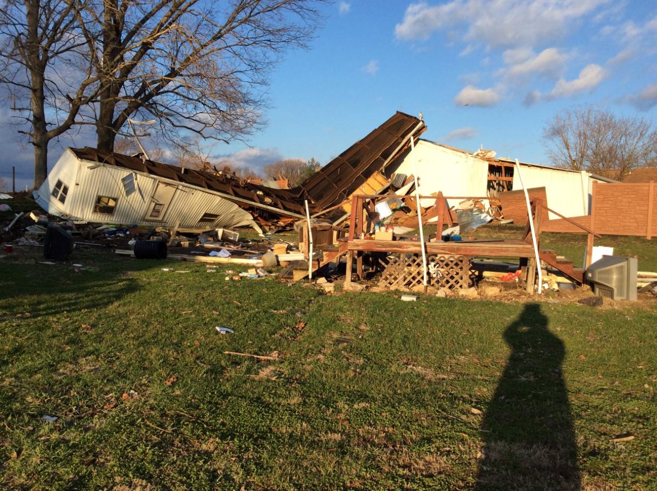 Illinois brown county versailles - Ef1 Tornado Damage