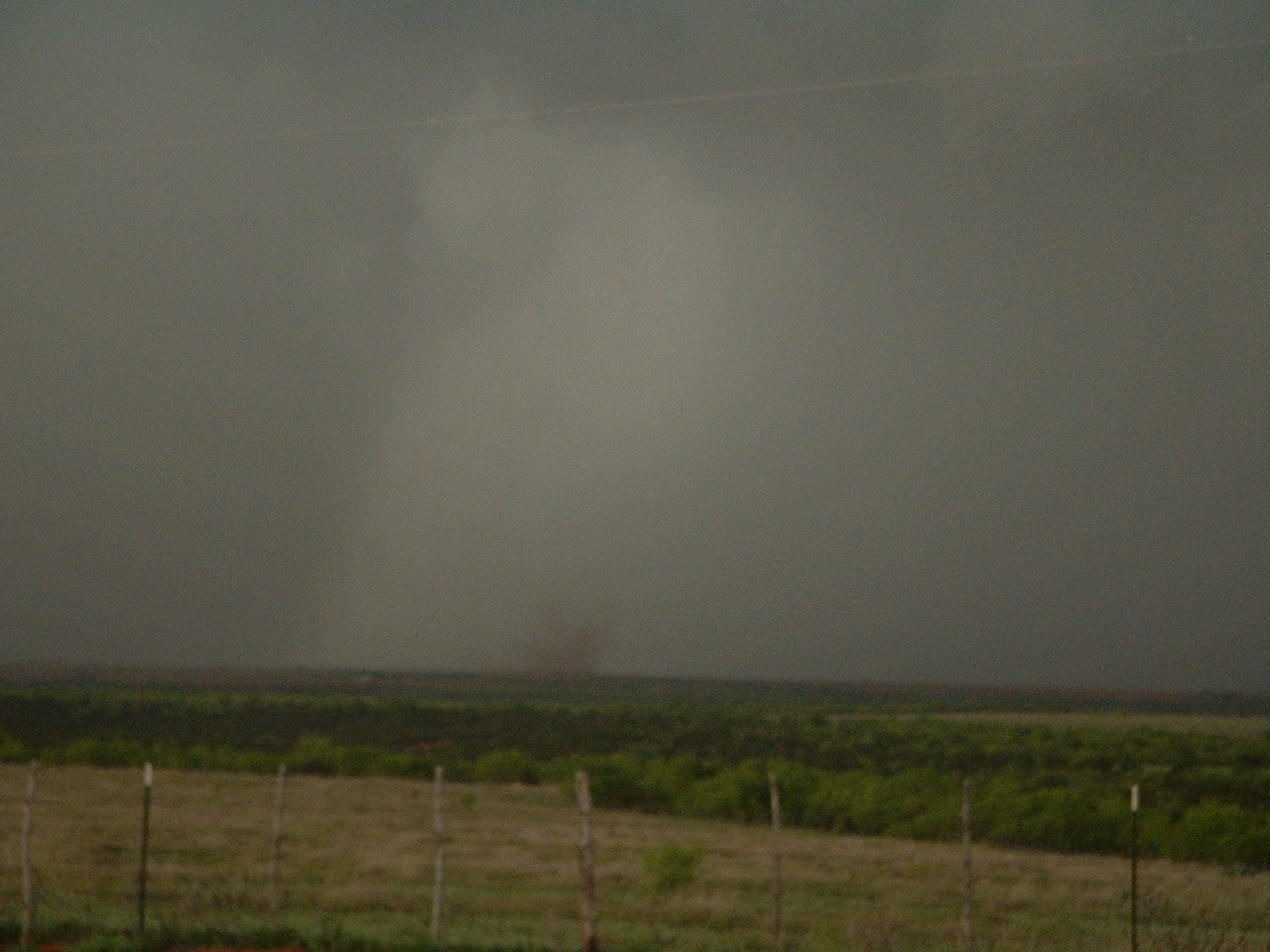 Picture of Childress County tornado