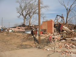 Images of Damage from the Estelline area.