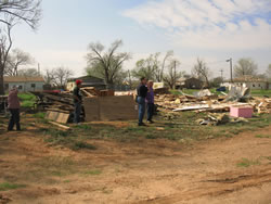 Image of Damage from the Estelline area.