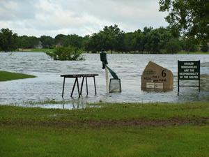 Lakeridge Golf Course in Lubbock. Click on the image to enlarge it.