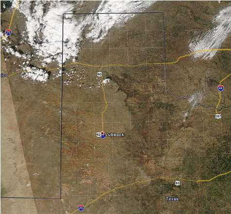 MODIS satellite imagery around 3 pm on October 27, 2011
