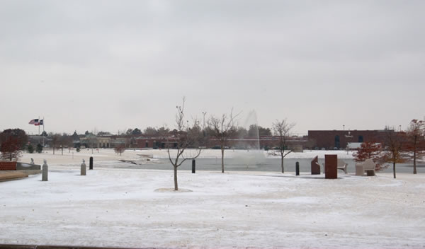 Picture of Huneke Park, in Lubbock, taken on 5 December 2011. Click on the image for a larger view.
