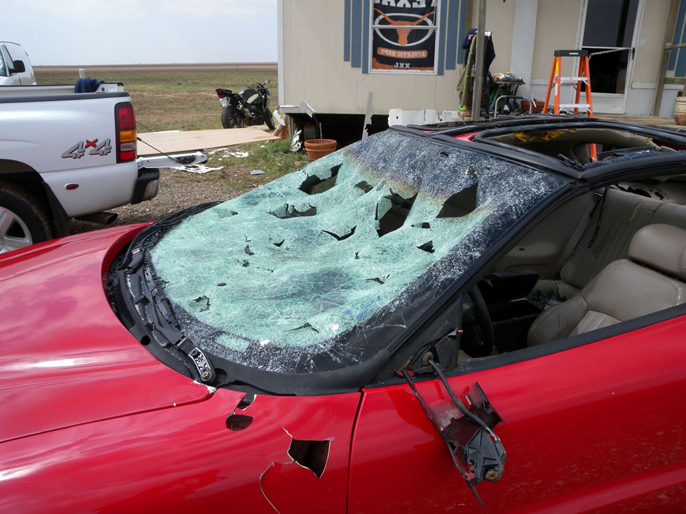 Thunderstorms Cause Wind And Hail Damage