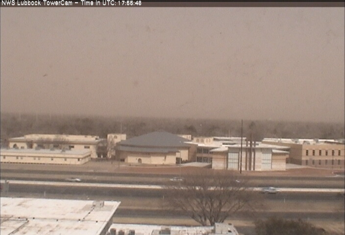 Picture captured on the south side of Lubbock at 12:56 pm on 18 March 2014.