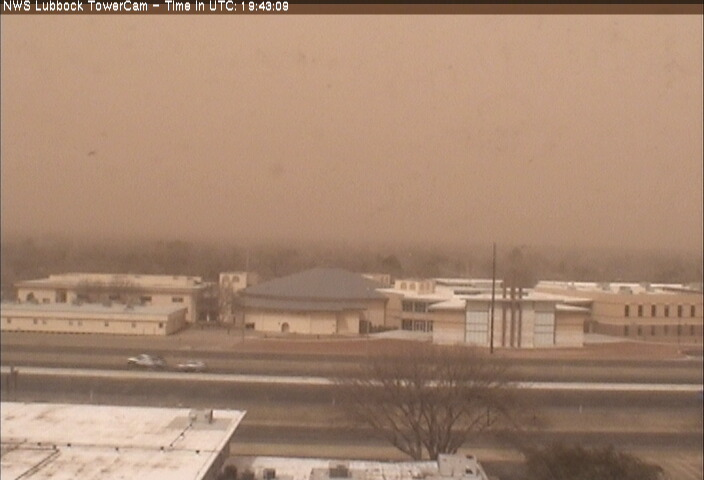 Pictures captured on the south side of Lubbock at 2:43 pm on 18 March 2014.