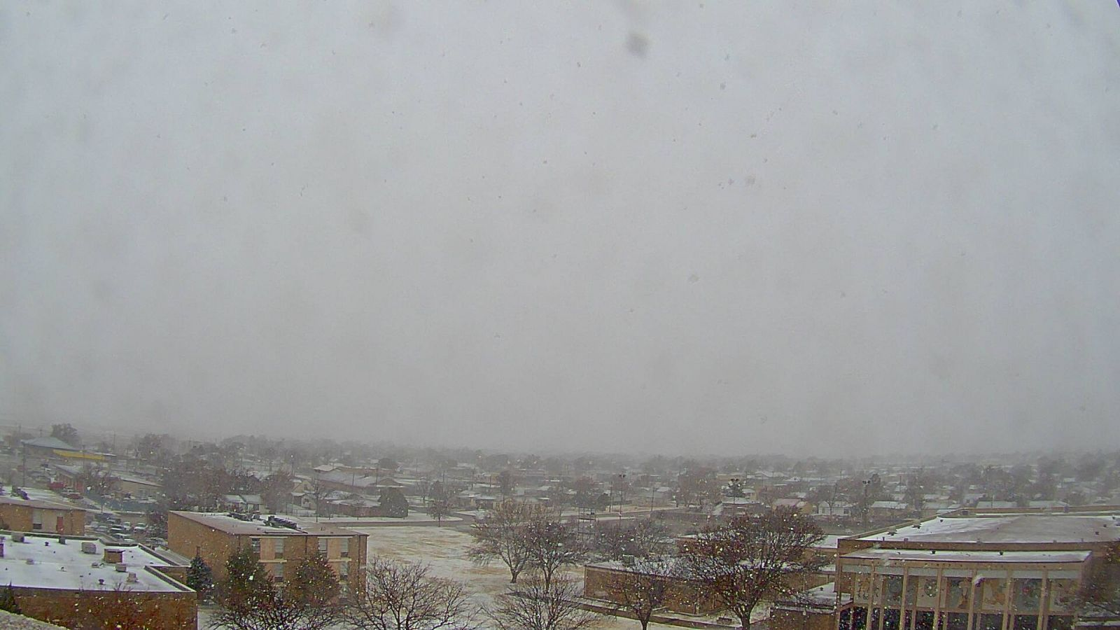 What it looked like in Plainview during the early afternoon of March 4, 2015. The image is courtesy of KAMC.