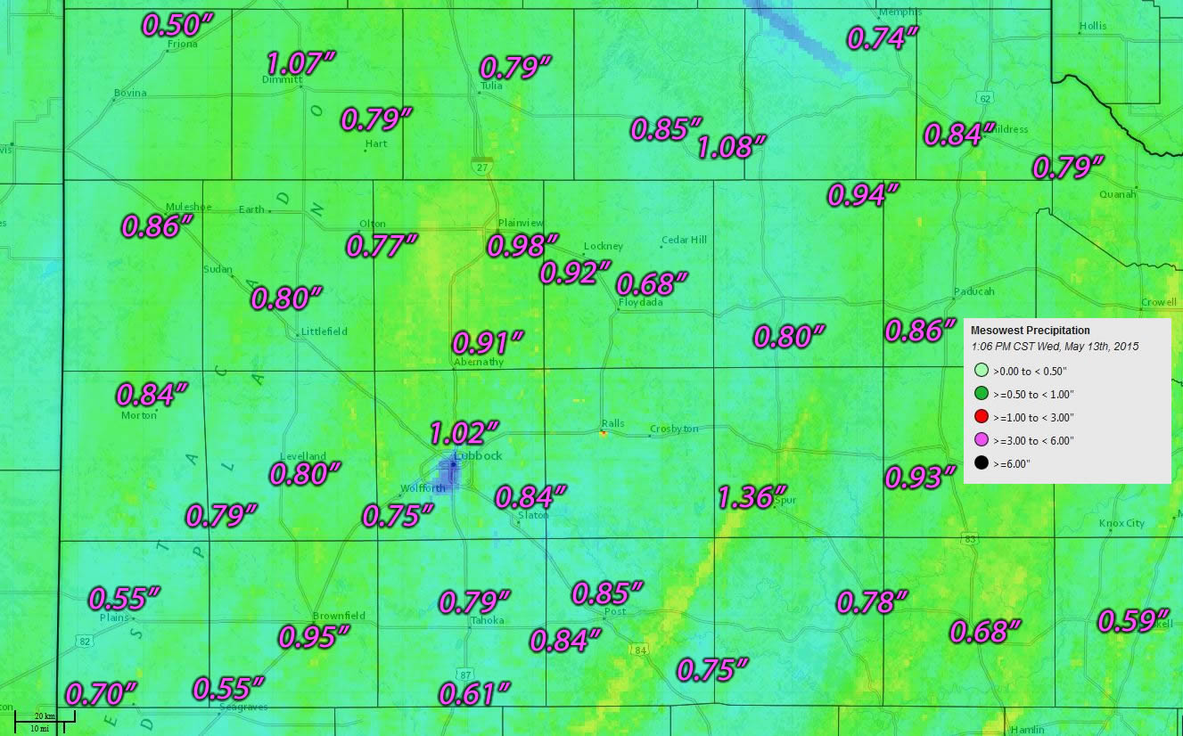 NWS Lubbock TX Rain Event  May - National weather map and radar