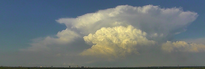Storm in northeast Lubbock County around 6 pm Tuesday evening.