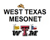 Link to the West Texas Mesonet