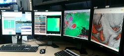 AWIPS II workstation at NWS Lubbock