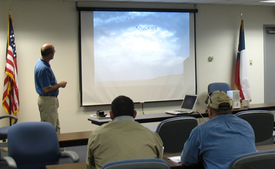 Example of a Skywarn training session