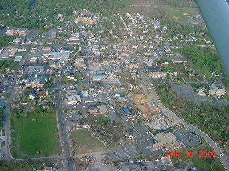 La Plata Tornado - April 28, 2002