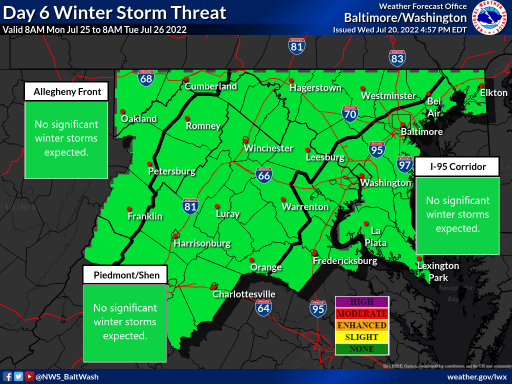 Day 6 Winter Storm Threat