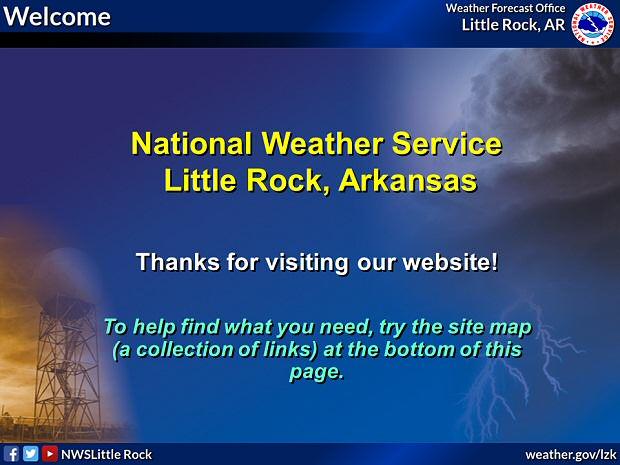 Little Rock Weather Map.Little Rock Ar