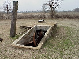 Several storm cellars were used to hide from the F5 tornado on April 10, 1929.