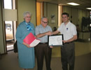 Seminole, Texas cooperative observer award