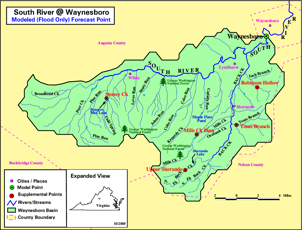 River Basin Maps - River map us