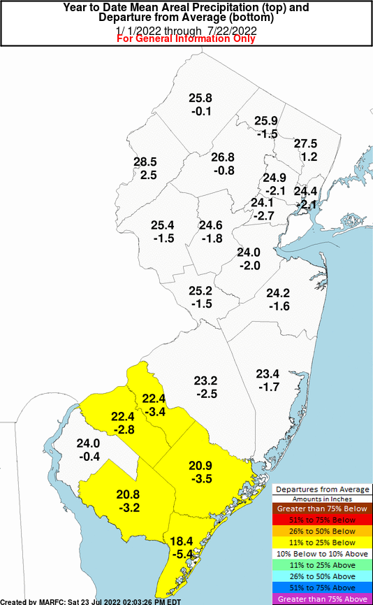 New Jersey Year to Date Precipitation Departures on north jersey zip code map, early new york state map, monsey new york map, wyckoff new jersey newspaper, wyckoff street map, wyckoff nj, south jersey zip code map, early new england colonies map, west orange nj street map, woodstock new york map, hightstown nj map,
