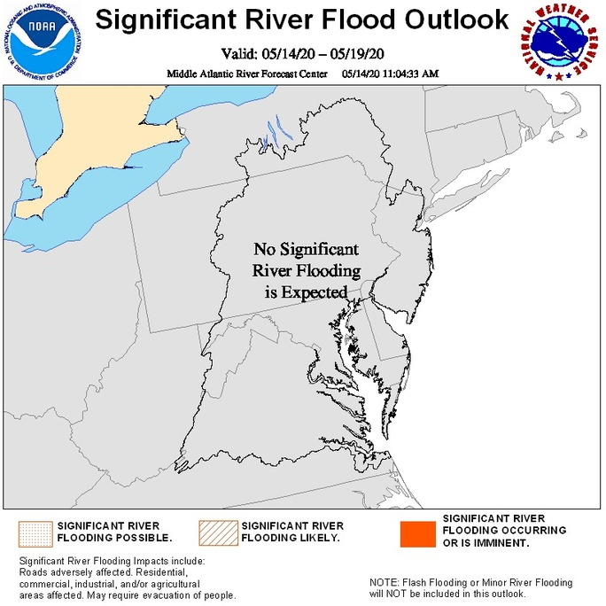 Significant Flood Outlook Map