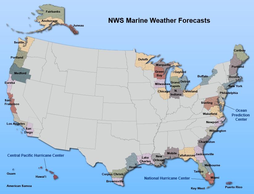 Nws Us Radar Map Marine, Tropical and Tsunami Services Branch