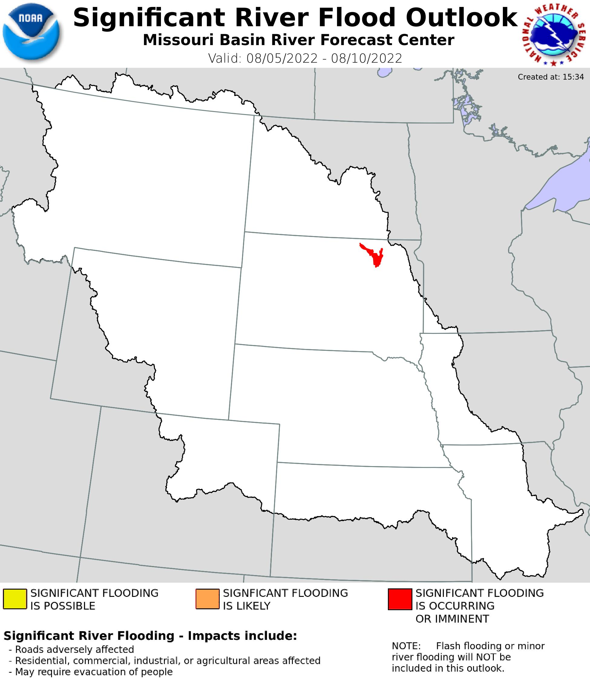 5-Day Flood Outlook Potential