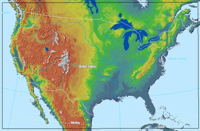 Image of the CONUS Grid