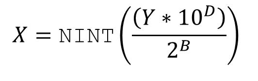 NINT Formula