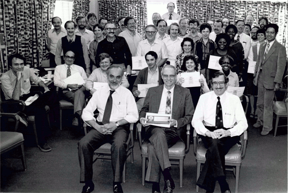 photograph of TDL team in 1979