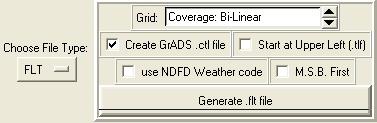 Figure 20: Select Create GrADS .ctl file