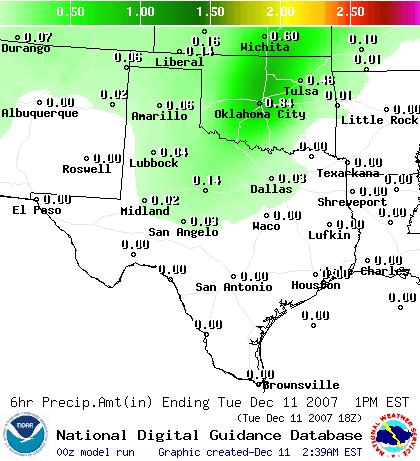 """new"" precipitation amount map"