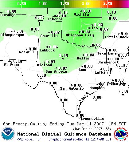 """current"" precipitation amount map"