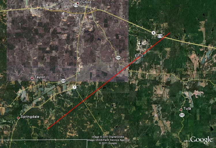 National Weather Service - Memphis, TN - Oxford, MS Tornado