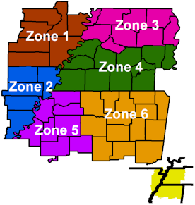 Fire Zone Map