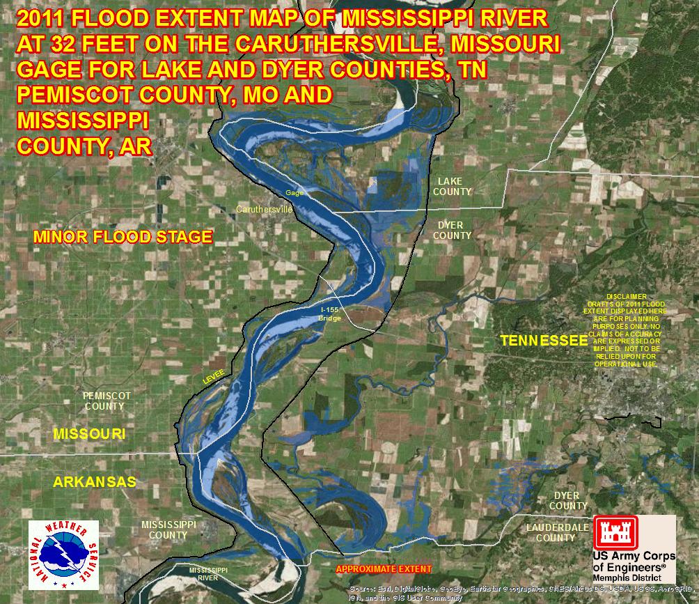 River Flood Maps