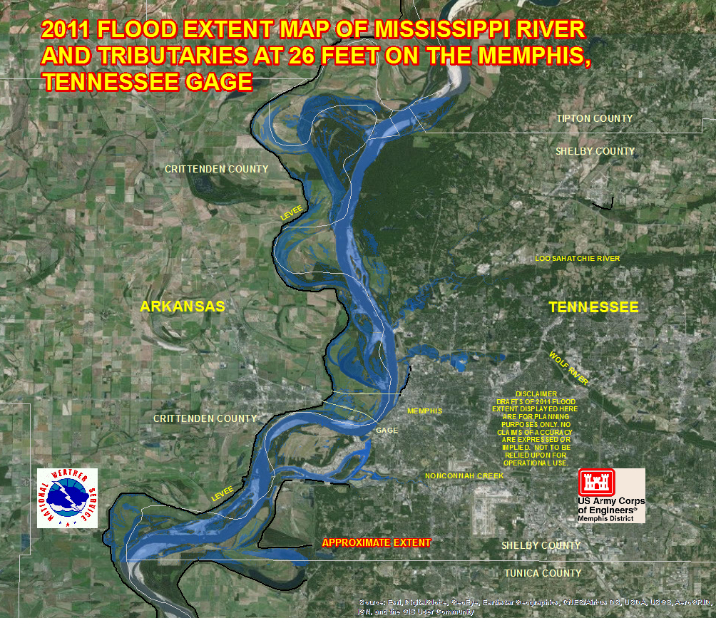 River Flood Maps