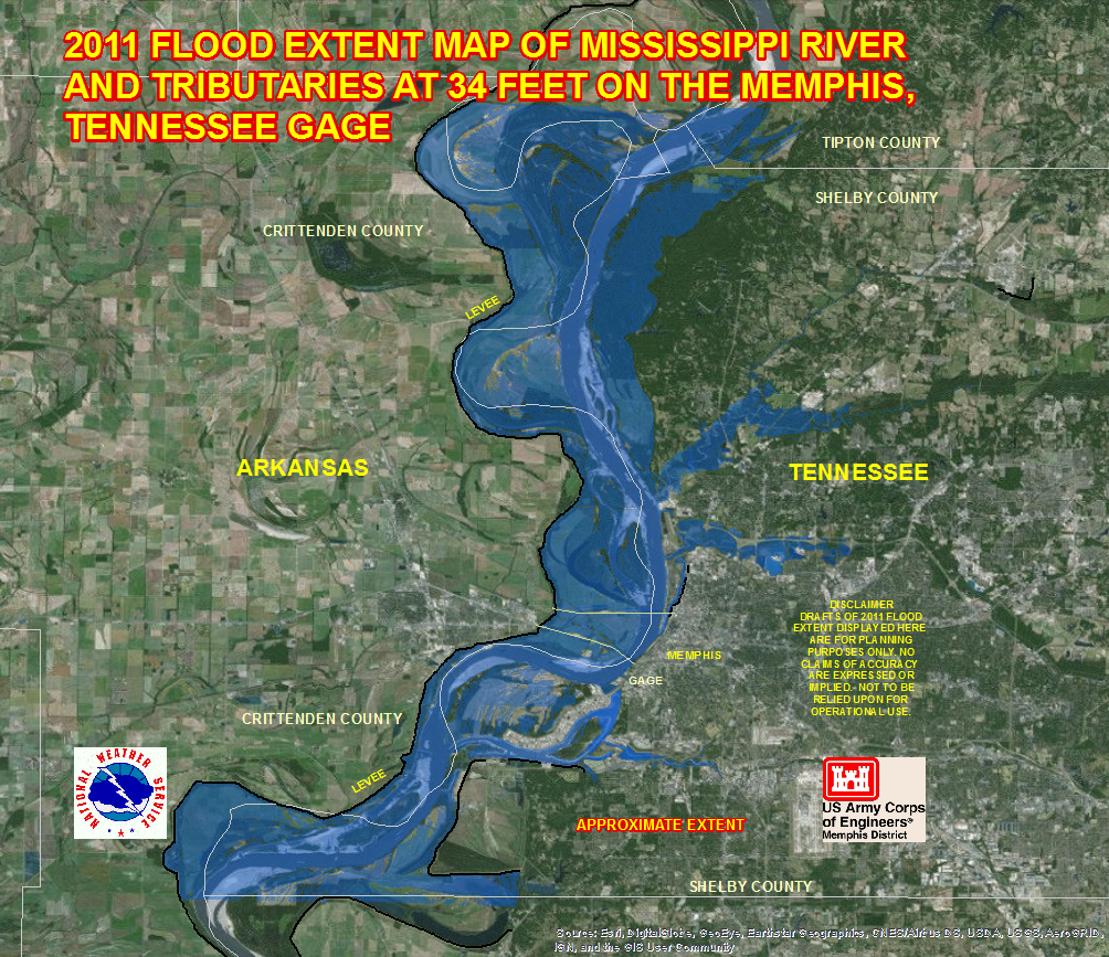 tunica river flood maps