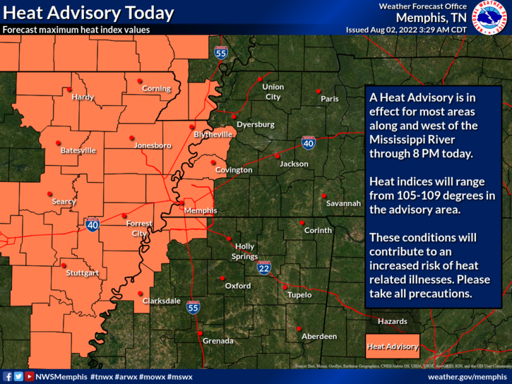 7-Day Hazardous Outlook