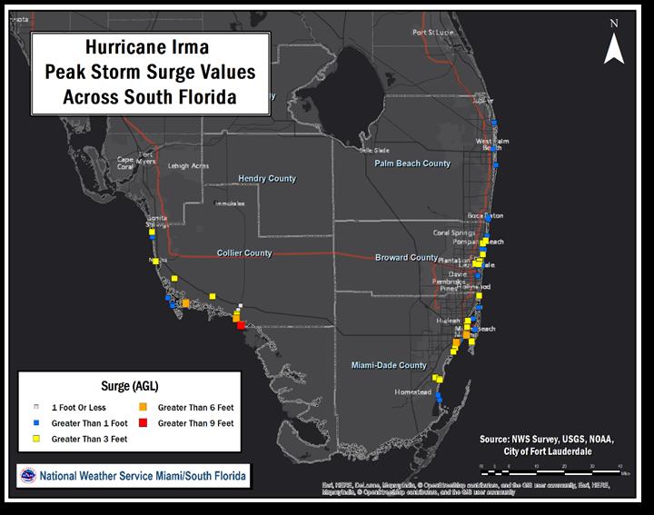 Hurricane Irma Local Report Summary